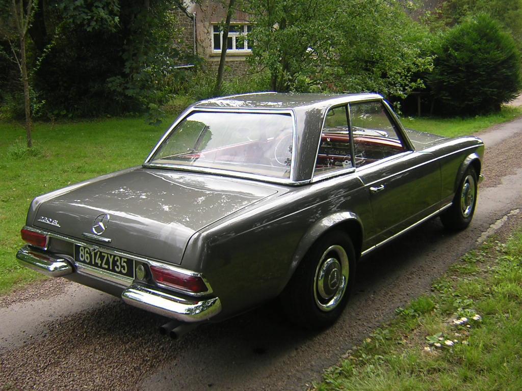 mercedes 230 sl 1963 v hicules bretagne roadster vente de voitures de collection en. Black Bedroom Furniture Sets. Home Design Ideas