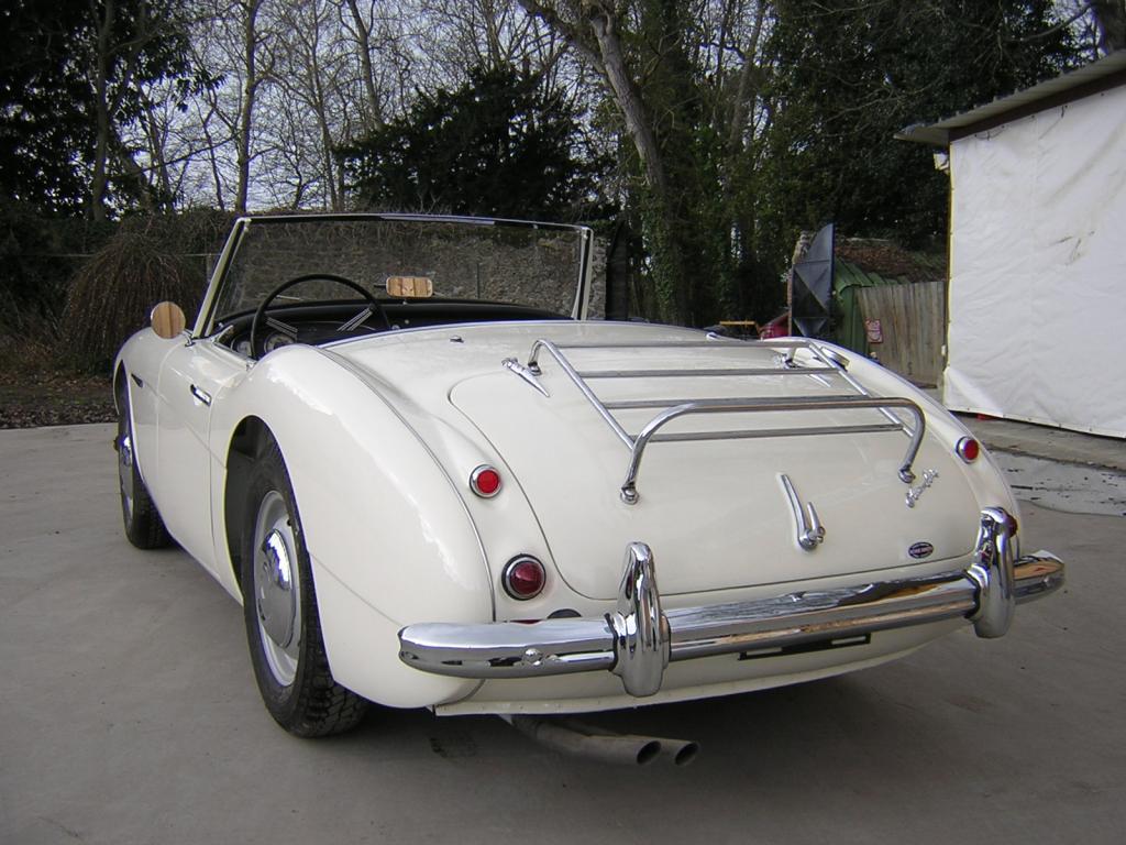 austin healey 100 6 1956 v hicules bretagne roadster. Black Bedroom Furniture Sets. Home Design Ideas