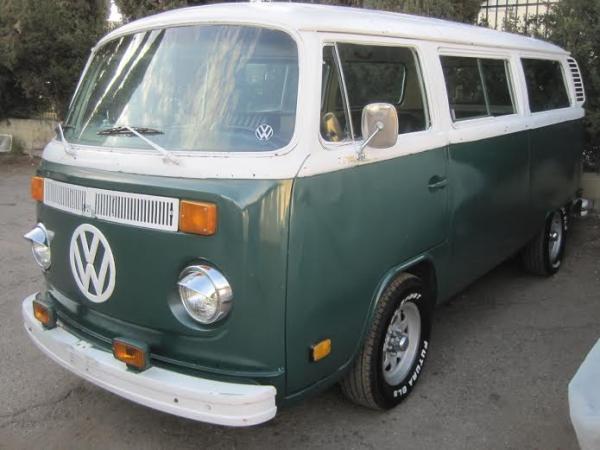 volkswagen combi bus vert 1978 bretagne roadster v hicules bretagne roadster vente de. Black Bedroom Furniture Sets. Home Design Ideas