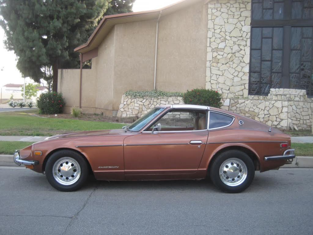 datsun 240 z bronze 1973 bretagne roadster v hicules bretagne roadster classic car vente de. Black Bedroom Furniture Sets. Home Design Ideas